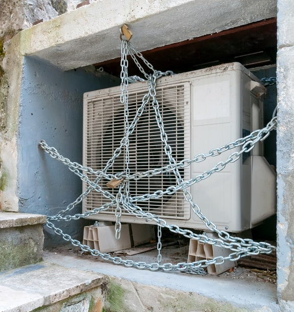 Air Conditioner Theft Prevention